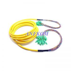 Multicore Fanout 0.9mm Fiber Optic Patch cable