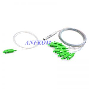 1 x 8 PLC Fiber Splitter Mini Module 900μm