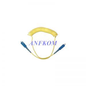 Curl Fiber Patch cord