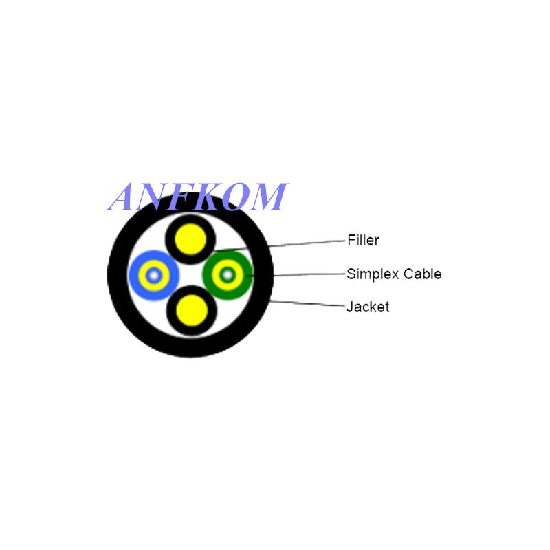 Duplex Round Far Transmission Cable GYFJH