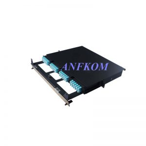 1U 96F Rack Mount High Density Patch Panel AMPP-05