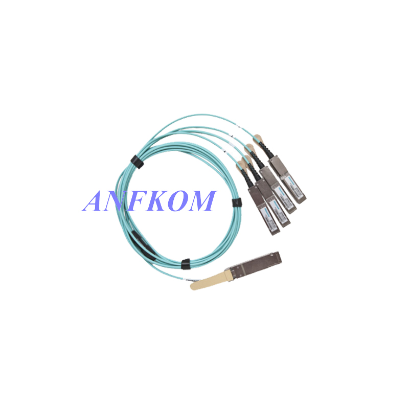 100G QSFP28 to 4xSFP28 Breakout Active Optical Cables (AOC)