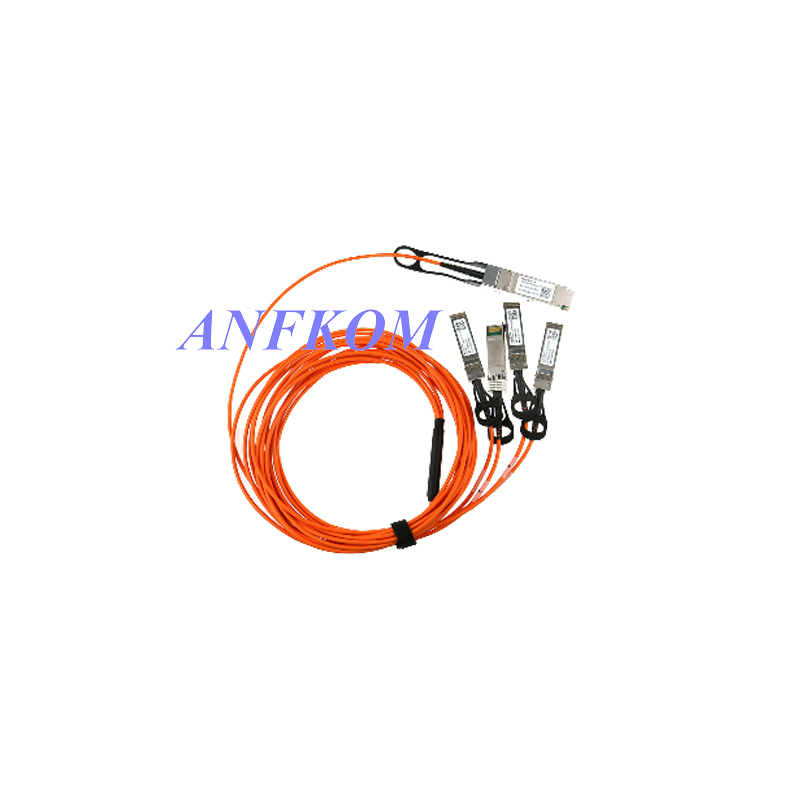 40G QSFP+ to 4xSFP+ Breakout Active Optical Cable (AOC)