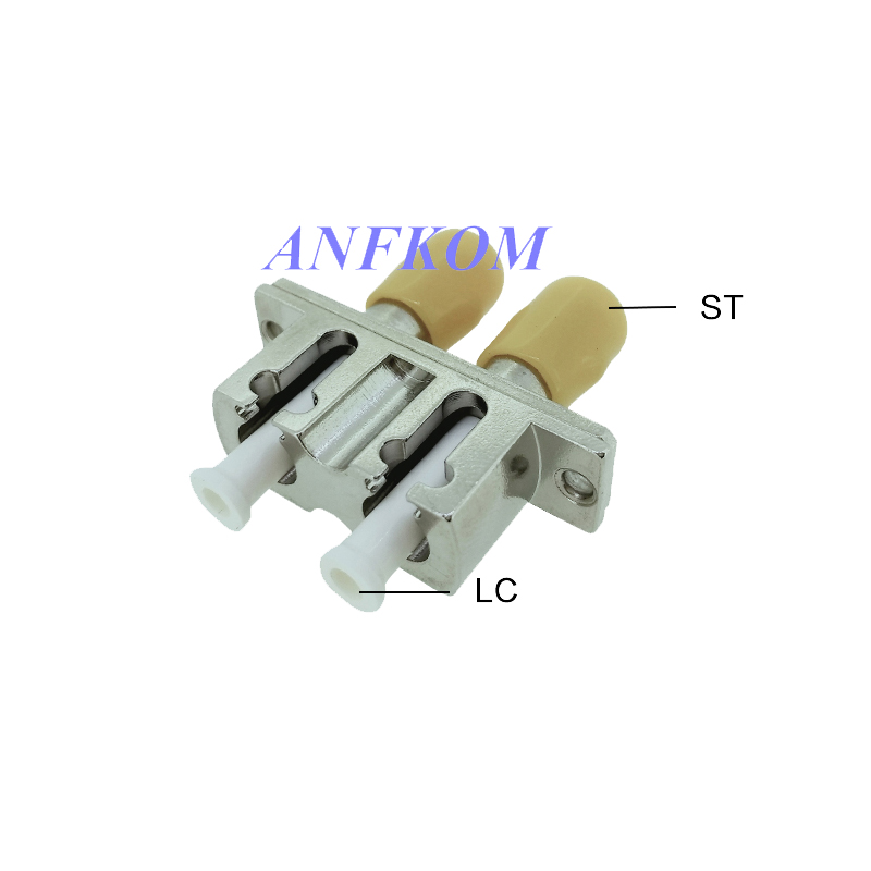 Fiber Optic ST to LC Adapter