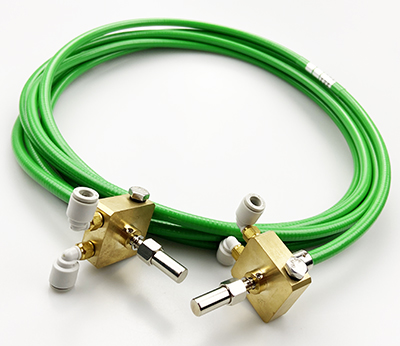 D80 connector with cooling element