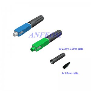 FTTH Fast Connector SC 0.9mm 2.0mm 3.0mm